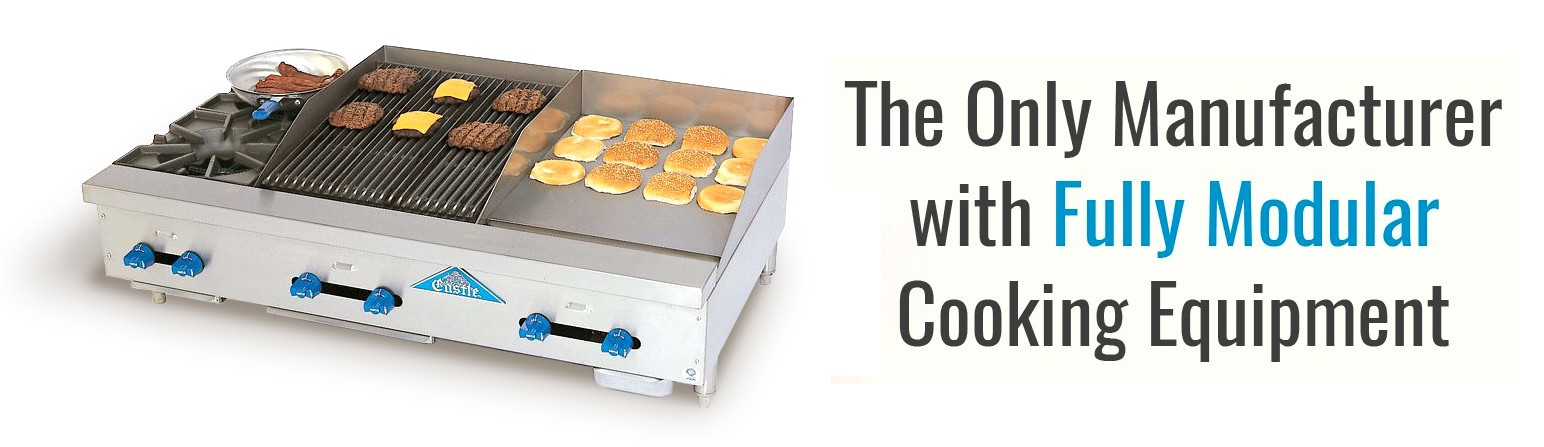 The Only Manufacturer with Fully Modular Cooking Equipment