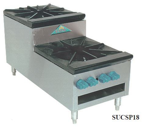 Step-Up Stock Pot Stoves