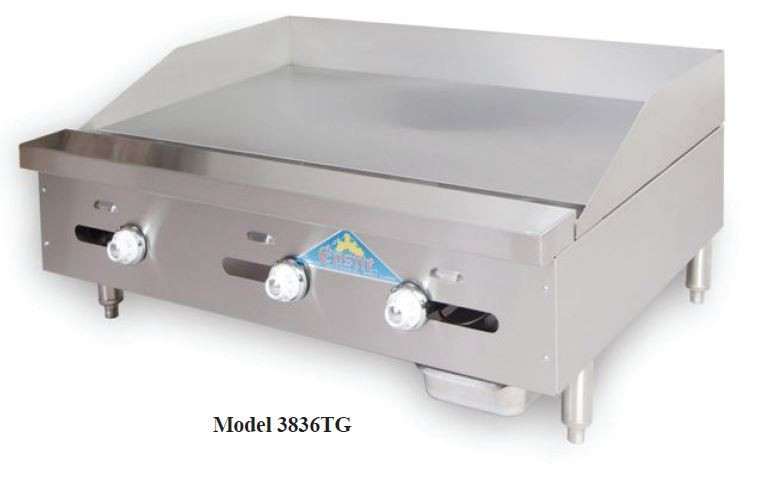 38 Series Thermostat Control Griddles