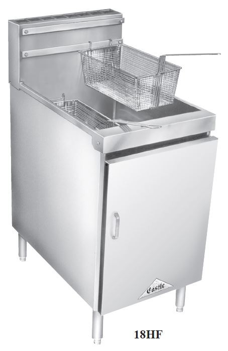 High Volume Tube Fryer