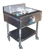 Blooming Onion Fryer - Floor Model / Tubular Stand